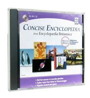 Encyclopedia Britannica Concise Edition 2004 CD Jewel Case Webster Dectionary