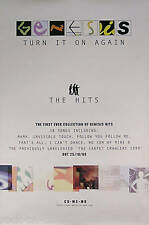 Genesis 1999 Turn It On Again Original Promo Poster