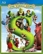 Shrek The Whole Story Blu-ray Disc 2010 4-Disc Set Eddie Murphy Mike Myers