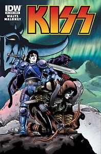 KISS #4 REGULAR COVER IDW 2012 NEW NEAR MINT