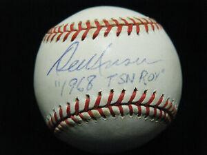 Vintage Del Unser Phillies 1980 WSC signed NL Coleman baseball