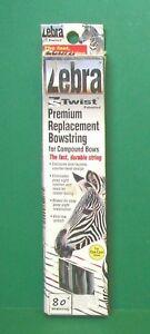 "New Mathews Zebra ZS Twist Premium Replacement Bowstring - 80"" Black & White"