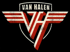5601 Van Halen Logo Rock Music Band 1980s 1990s Sammy Hagar Sticker / Decal