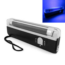 Light Handheld UV Black Light Torch Lamp Blacklight Party Stage Dj Money Verify