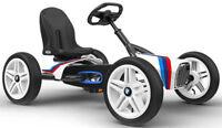Berg Buddy BMW Street Racer Kids Pedal Car Go Kart White 3 - 8 Years NEW