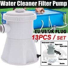Piscina Filtro De Agua Bomba Y Cartucho Para Piscina 300GA Flowclear