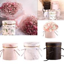 Flower Boxes Round Paper Vases Florist Box Handheld Bouquet Flower Plant Boxes