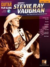 More Stevie Ray Vaughan Sheet Music Guitar Play-Along Book and Audio 000702396
