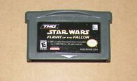 Star Wars Flight Of The Falcon for Nintendo Game Boy Advance Fast Shipping!