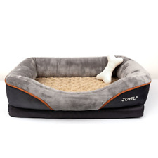JOYELF Large Memory Foam Dog Bed, Orthopedic Dog Bed & Sofa with Removable Cover