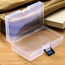 Plastic Clear Storage Box Jewelry Craft Nail Art Beads Container Organizer Cases