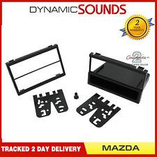 Black Single Or Double Din Fascia Adapter Panel For Mazda Miata 1999-2005