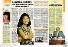 Coupure de presse  Clipping 1996 Ludmila Mikael