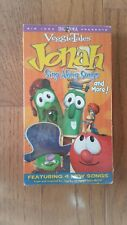 Veggie Tales Jonah Sing Along Songs And More Sealed VHS Cassette Tape New