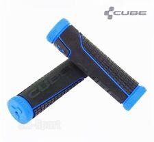 Cube Bikes MTB / Mountain Bike Handlebar Grips, Black-Blue, Performance Series