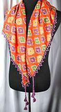 Ralph Lauren  Denim & Supply Women's Scarf  100% cotton  #5074687  NWOT