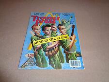 Trouser Press - Apr 1981 - Clash Cover - The Vapors - Grace Slick - Fischer Z