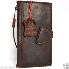 genuine oil leather Case for apple iphone 6 plus book wallet slim cover 6s pro R