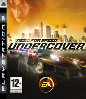 Need For Speed Undercover PS3 Playstation 3 IT IMPORT ELECTRONIC ARTS