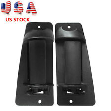 LH & RH Pair Set Extended Cab 3rd Third Side Door Handle for Chevy Truck Cargo