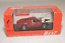 A2 1:43 BEST MODEL 9160 FERRARI 250 LM 250LM LE MANS 1964 LONG NOSE RED MIB