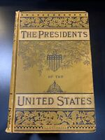 LIVES OF THE PRESIDENTS OF THE UNITED STATES,1881,John C. Abbott RARE VG