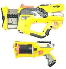 Nerf N-Strike Firefly Rev-8 & Maverick Rev-6 Dart Gun Blaster Toys Light Up Work