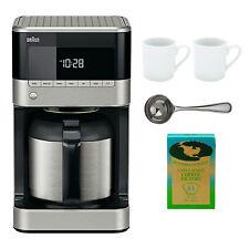 Braun BrewSense KF7155BK Thermal Drip Coffee Maker Bundle