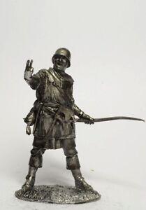 Tin soldier, figure. English archer 1346-1356 54 mm