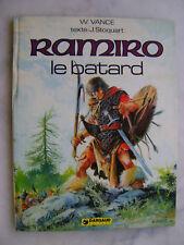 VANCE - RAMIRO 1 - Ramiro le bâtard - EO
