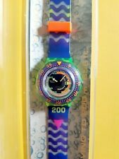 Swatch Scuba 1992- SDJ100 -Coming Tide-Nuovo-Vintage-Orologi da polso-Anni 90
