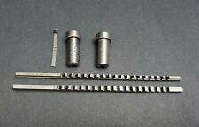 "DuMont USA 3/32"" & 1/8"" A HSS Keyway Broach  3/8"" & 10mm Bushing 22203vMachinist"