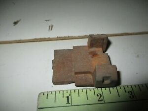 O Scale : American Flyer  steam chest (?), cast iron