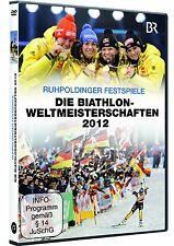 DVD * RUHPOLDINGER FESTSPIELE - Die Biathlonweltmeisterschaften 2012 # NEU OVP >