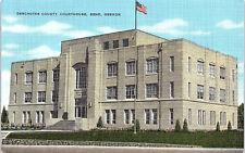 Bend, Oregon, Deschutes County, Courthouse - Postcard (C8)