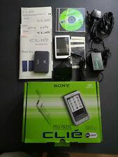 Sony Clie PEG T 625C, PDA Personal Digital Assistent mit Zubehör in Original-Ver