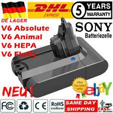 Sony Cell Vakuum Akku für Dyson V6 DC58 DC59 SV03 DC61 DC62 Animal DC72 battery