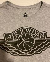 Nike Air Jordan T-Shirt - Gray - Men's Size Large