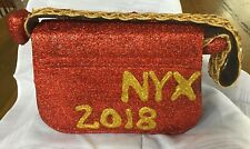 Krewe Of Nyx 2018 Red Glitter Purse Favor New Orleans Mardi Gras Carnival Parade