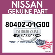 80402-01G00 OEM GENUINE NISSAN HINGE ASSY-FRON 8040201G00