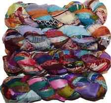 Sari Silk Ribbon craft chiffon ribbon yarn, jewelry making Print