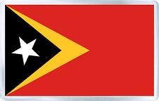 EAST TIMOR FLAG FRIDGE MAGNET SOUVENIR IMAN NEVERA