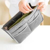 Large Lady Travel Insert Handbag Organiser Purse Liner Organizer Bag Women WA