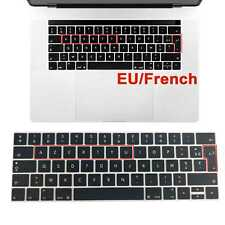 clavier protection Keyboard Skin AZERTY Pour Macbook A1706 A1707 Avec Touch bar