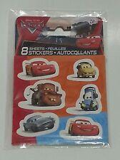 Disney Cars Lightning McQueen Mater Stickers Party Favors Teacher Supply - 48pk