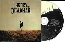 CD CARTONNE CARDSLEEVE COLLECTOR 10 TITRES THEORY OF A DEADMAN DE 2002
