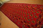 Stunning Extra large yamut geometric Pattern Turkoman hall Way Runner,Natura dye