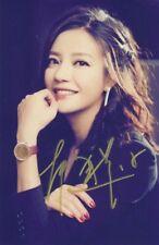 hand signed Vicki Zhao 趙薇 autographed photo 5*7 autographs free ship 022018A