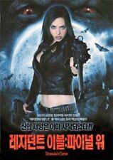 Dracula's Curse 2006 -Region 2 Compatible DVD (UK seller!!!) Eliza Swenson NEW