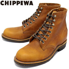 CHIPPEWA 1939 original service english tan utility boot 4353tan  USA size 9 D